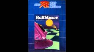 Ballblazer (Atari 8-Bit) Theme - Song of the Grid (NTSC)