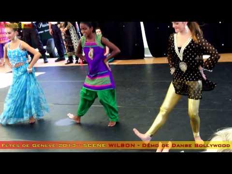 Fêtes de Genève 2013 - démo de danse Bollywood - Scène Wilson