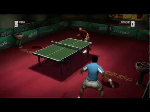 Rockstar Table Tennis - Serving Aces Mark vs Jung Soo (Expert)