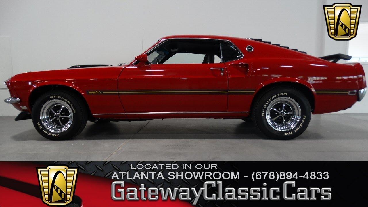 1969 Ford Mustang Mach I - Atlanta Showroom - Stock # 28