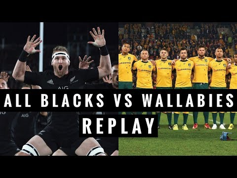 REPLAY: All Blacks vs Wallabies - Rugby Championship