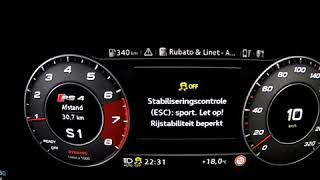 Audi RS4 B9 - ACCELARATION - STAGE 1 CHIPTUNING - 0-200 KM/H