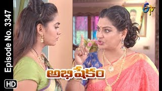 Abhishekam | 7th October 2019  | Full Episode No 3347 | ETV Telugu