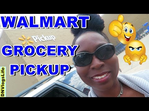 Walmart Grocery Pickup Coupon and Walmart Grocery Haul | First time experience | Get $10 OFF