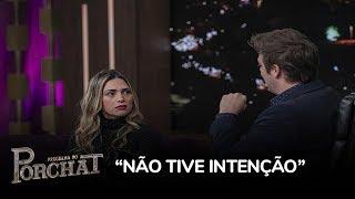 """Nadja nega interesse em Sertanejo: """"Não tive intenção"""""""