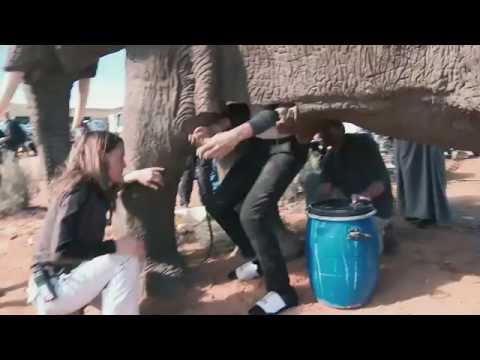 Grimsby - Behind the scenes on the elephant's vagina scene indir