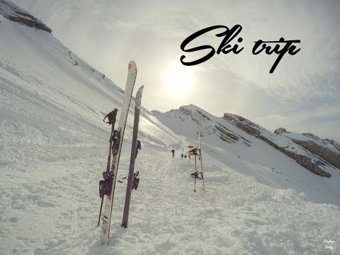 Ski trip report 2016 - GoPro HERO 4