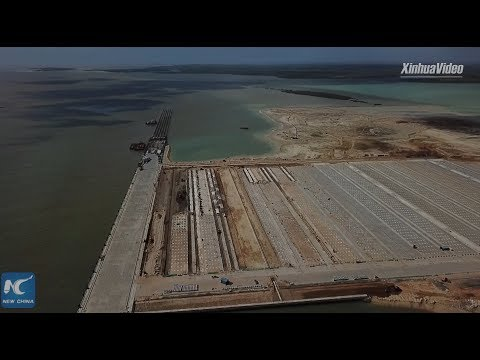 Chinese Firm Constructs Lamu Port For Kenya