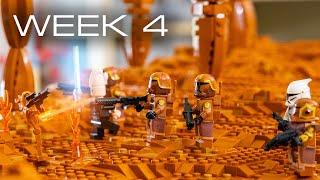 Building Geonosis in LEGO - Week 4: Spires