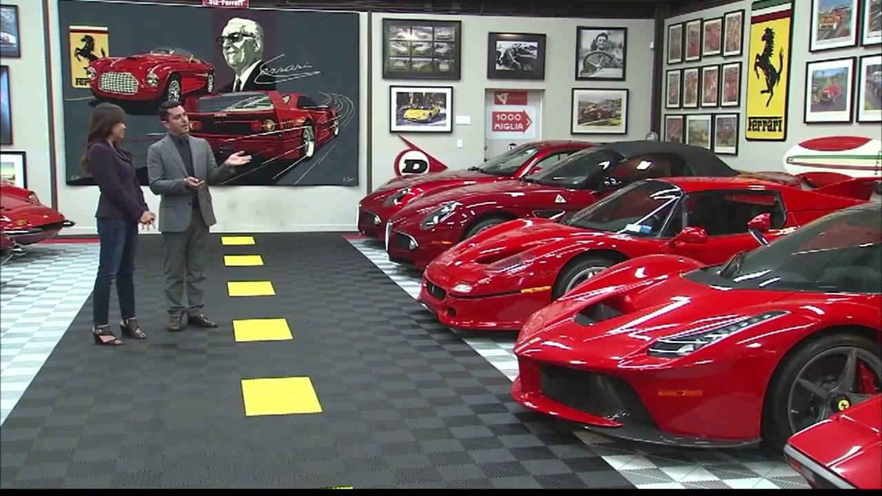 Secret ferrari garage youtube for Garage ferrari charnecles