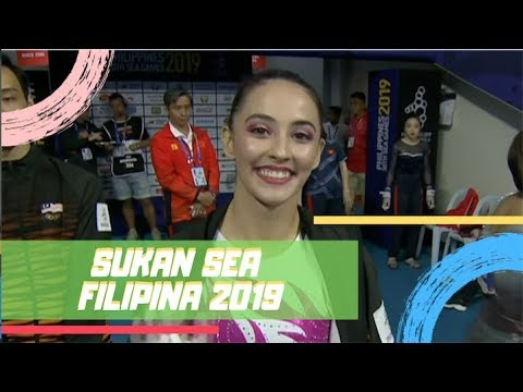 EMAS Farah Ann | Palang Tak Sejajar | Sukan SEA 2019 | Astro Arena