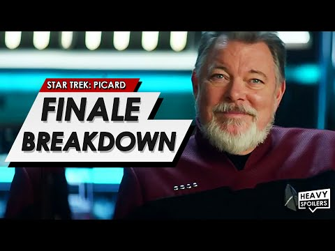 STAR TREK: Picard Episode 10 Breakdown + Ending Explained | Spoiler Review & Season 1 Thoughts