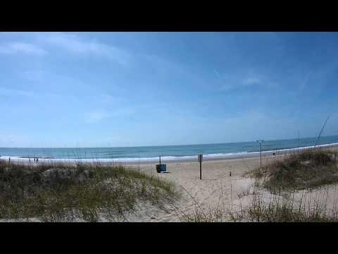 Emerald Isle Beach North Carolina - Sights and Sounds - April 13,  2014