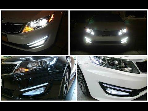 2011-2013 Kia Optima LED Daytime Running Lights