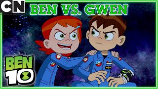 Ben 10 | Ben Vs. Gwen | Cartoon Network UK