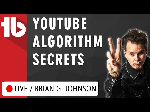 🔴 YouTube Algorithm 2017 - Secrets w. Brian G