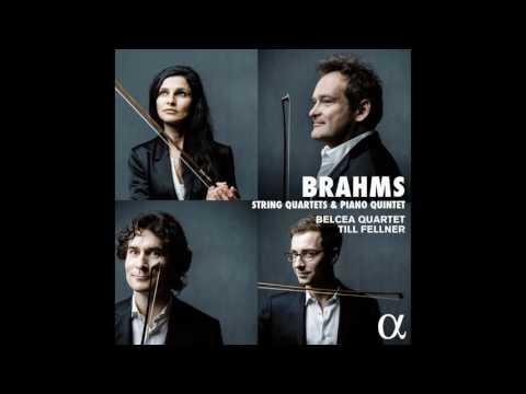 BRAHMS // Piano Quintet in F Minor, Op. 34: I. Allegro non troppo // Belcea Quartet, Till Fellner