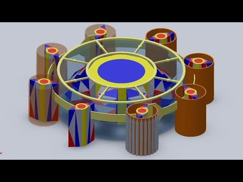 Магнитный двигатель Серла