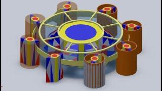 Магнитный двигатель Серла (фильм генератор Серла в 20 мин).
