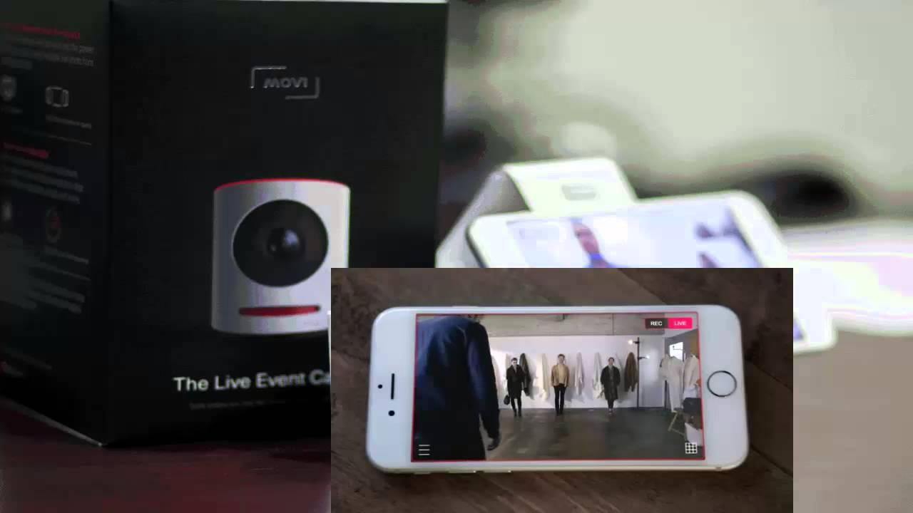 Movi the live event camera youtube for Live camera website