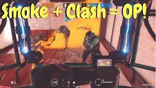 Clash Smoke Combo in Rainbow Six Siege