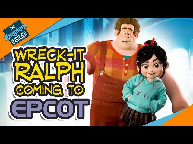 WRECK-IT RALPH and VANELLOPE Coming to Epcot in Walt Disney World