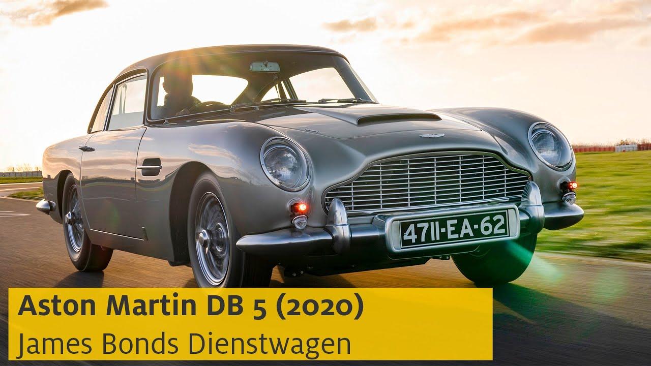 Aston Martin Db 5 2020 James Bonds Neuer Alter Dienstwagen Adac Youtube