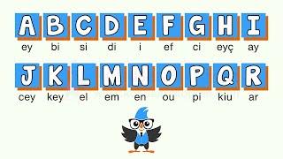 İngilizce Harfler - Alfabeler Okunuşu Sesli  Konuşarak Öğren