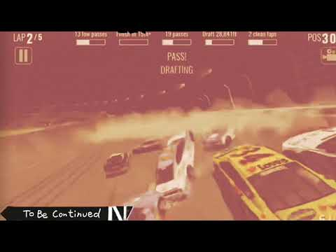 Nascar Heat Mobile Crash/yellow Flag Compilation Pt 6 (BUT EDITED)