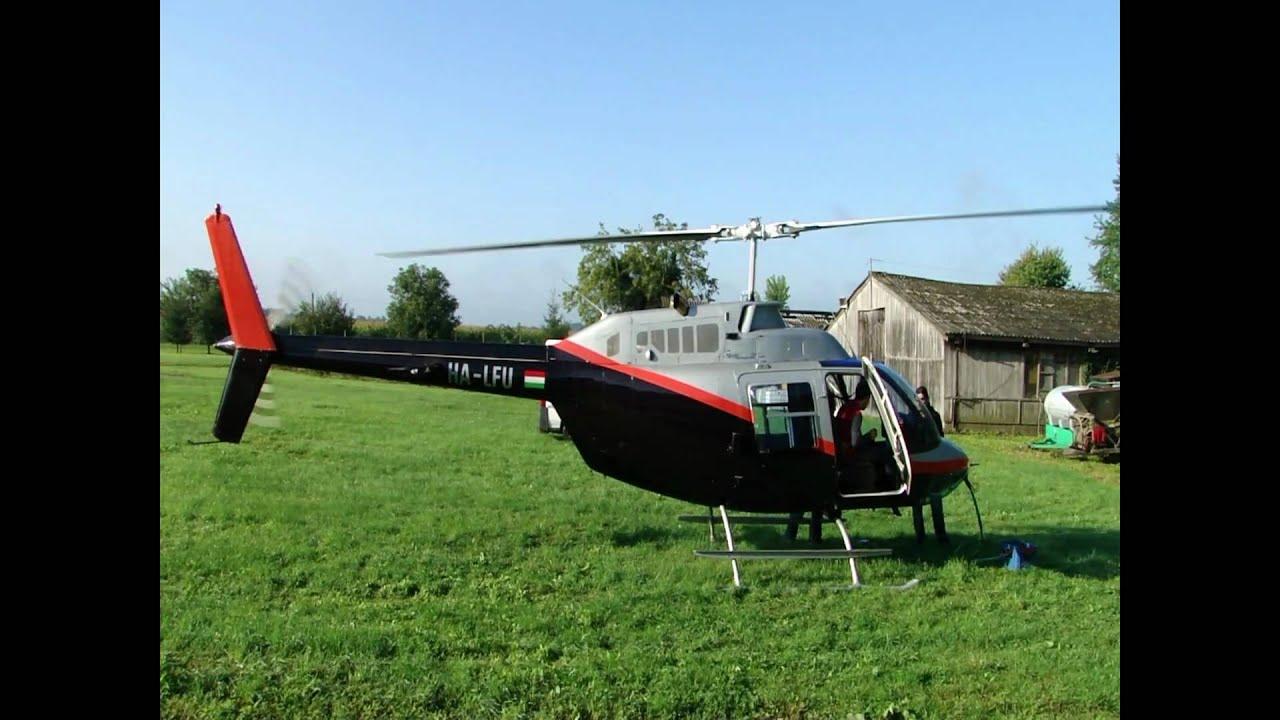 Bell 206 JetRanger III HA LFU helicopter Allison 250 C20J