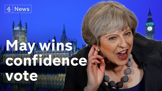 May wins confidence vote - what next for Brexit?