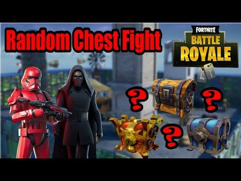Random Chest Fight | Kampf der Star Wars Skins! | Fortnite Battle Royale