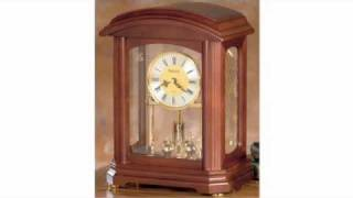 Bulova Clocks - bulova mantel clock - bulova grandfather clocks