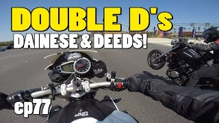 Double D's - Dainese D-store & Z Pushes A Car Into A Curb