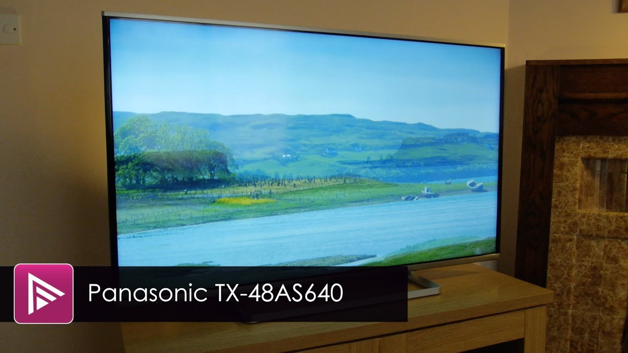 Panasonic TX 48AS640 LED TV Review   YouTube