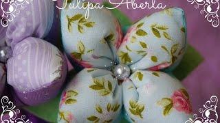 Tulipa Aberta – Ateliê Ana Paula Yoshida