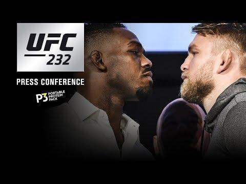 UFC 232: Pre-fight Press Conference