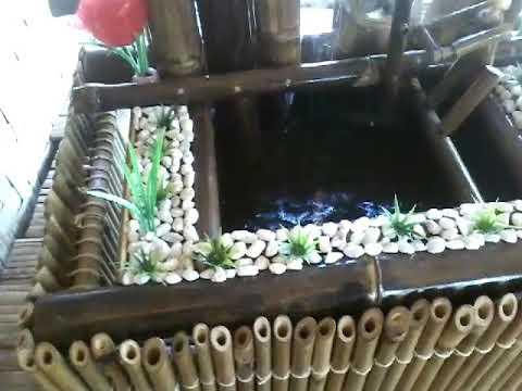 Air mancur bambu karawang
