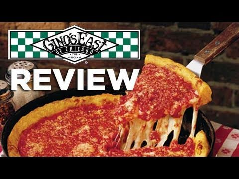 Video Reviewginos East Of Chicago Deep Dish Pizza Youtube