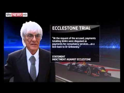 Formula One boss Ecclestone denies bribery charges