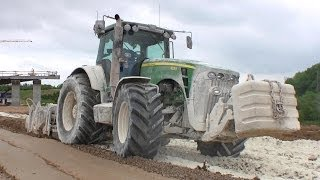 John Deere 8530 With Wirtgen WS 250 Soil Stabilizer