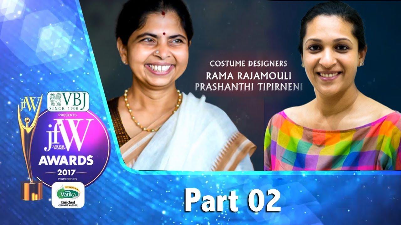 Jfw Awards 2017 Part 02 Inspiring Stories Bahubali Costume Designer Prashanti Tipirneni Youtube