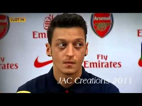 Mesut Ozil FULL First Press Conference With Arsene Wenger 12/9/13