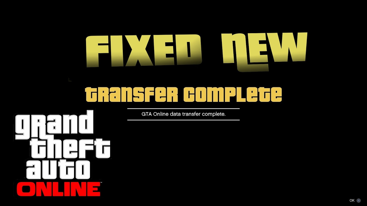 how to transfer gta v from ps3 to ps4