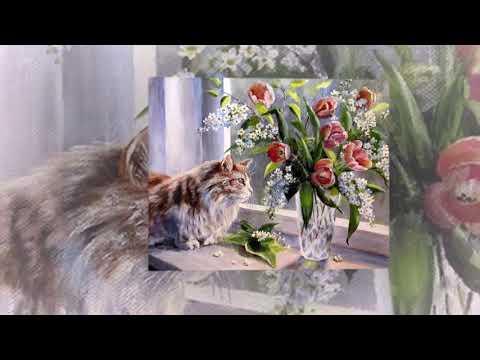 Весна. Зима уходит,  прочь печали. Живопись русских художников. Стихи о весне.