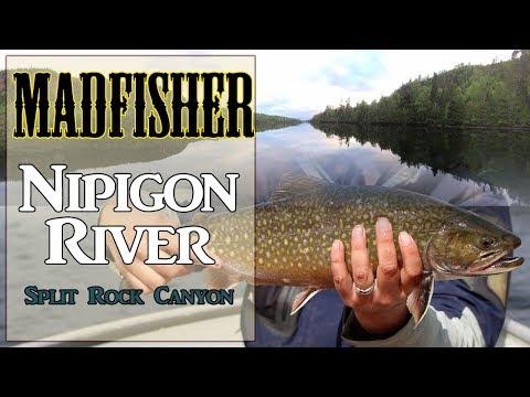 Nipigon River - Boating Through Split Rock To Brook Trout Heaven
