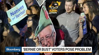 'Bernie or Bust' Creates Dilemma for Democrats