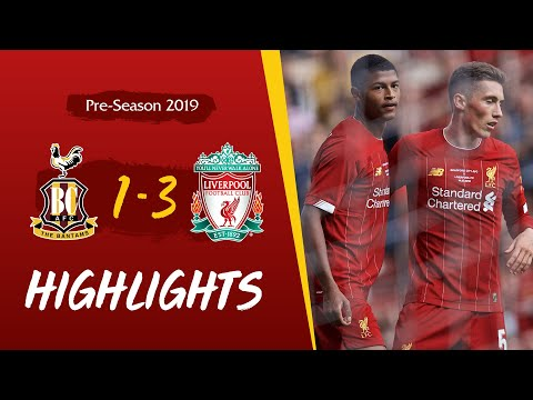 Bradford City 1-3 Liverpool | Milner and Brewster on target