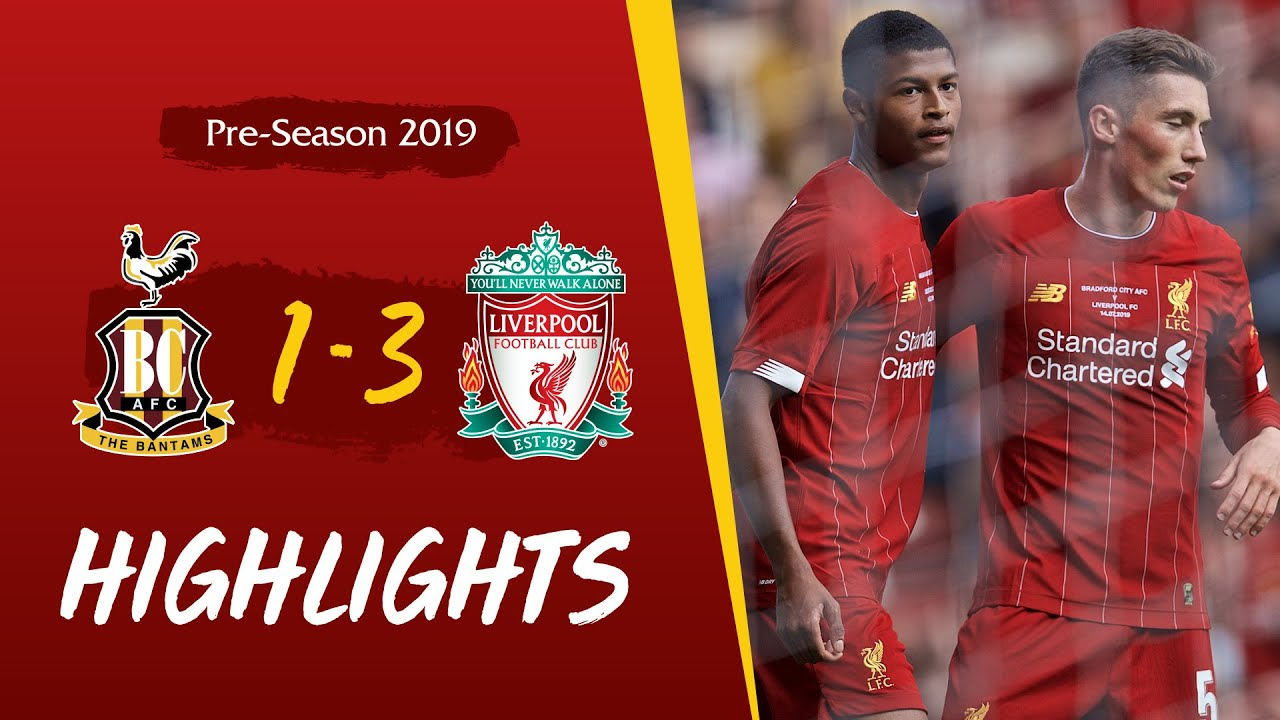 Bradford City 1-3 Liverpool | Milner and Brewster on target for Reds