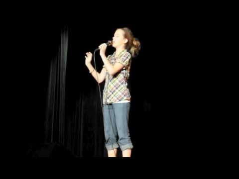 Julia Goodwin- 12 year old sings AT LAST- by Etta James